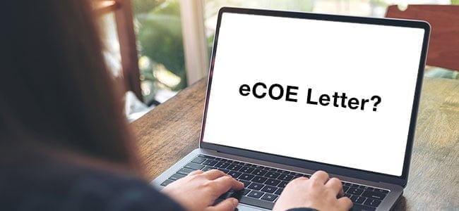 Ecoe Letter