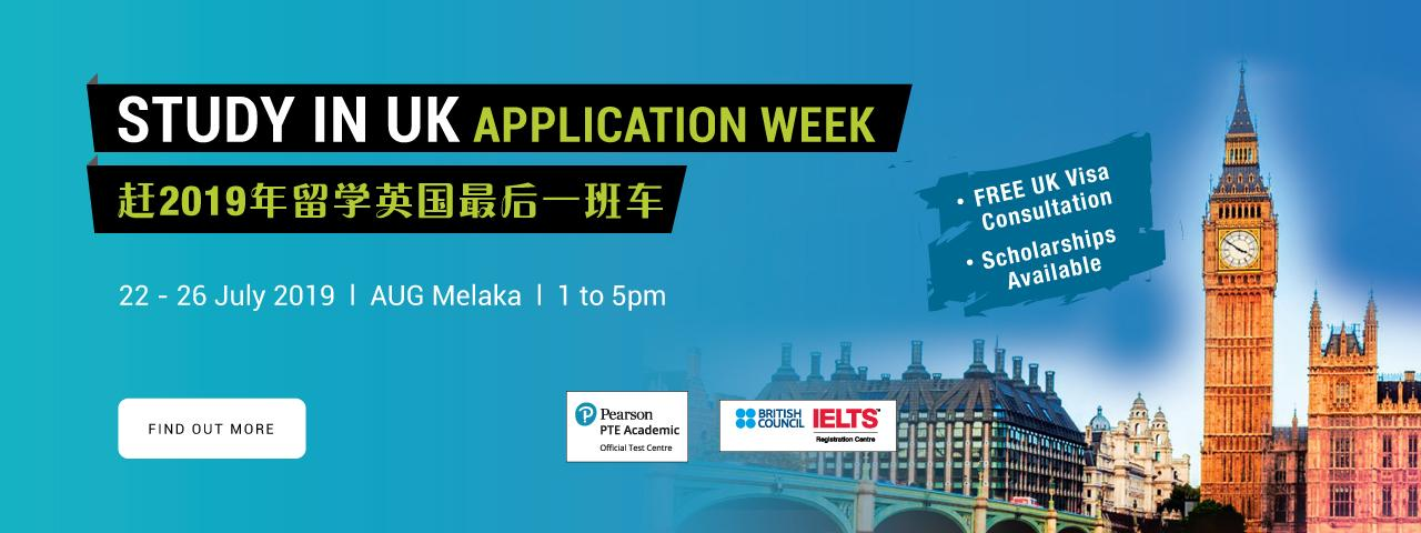 STUDY IN UK APPLICATION WEEK | AUG Student Services